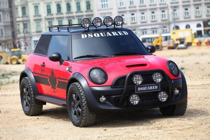 Mini и Dsquared представили спецверсию Cooper S (8 фото)