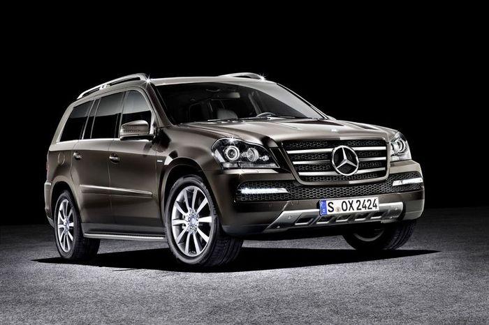 Mercedes GL в новом виде - Grand Edition (9 фото)