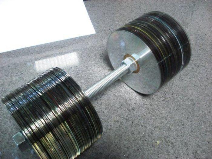 Что можно сделать из компакт-дисков (8 Фото)