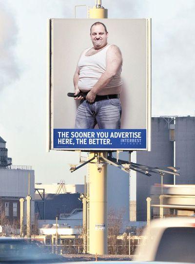 Своеобразный рекламный ход (4 фото)