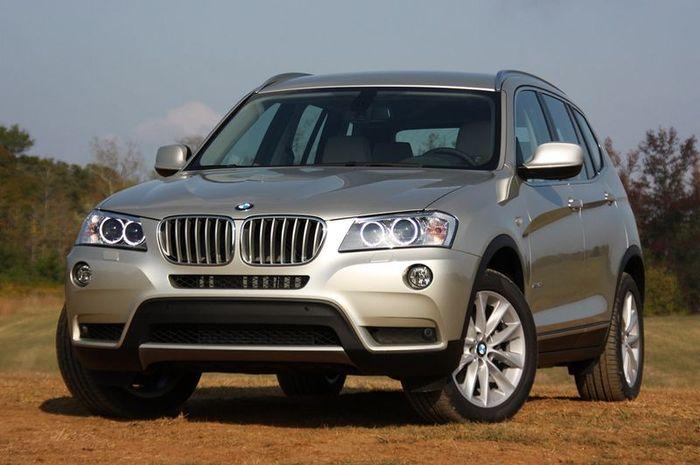 На новый BMW X3 M будут устанавливать три турбины! (48 фото)