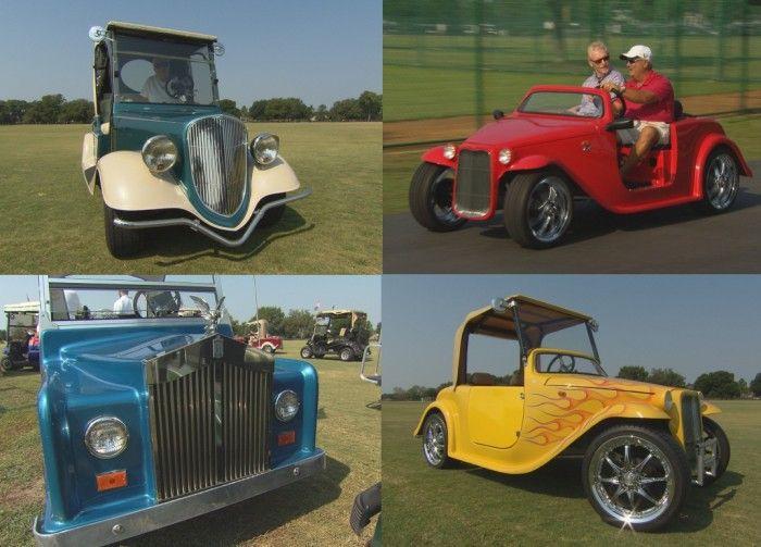 Необычные автомобили для гольфа (25 фото)