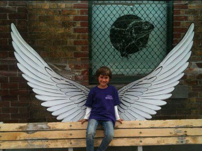 Люди-ангелы (12 Фото)