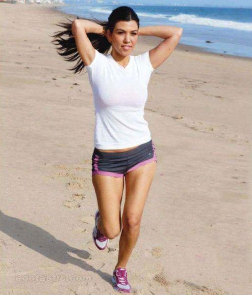 Красотка Kourtney Kardashian (9 фото)