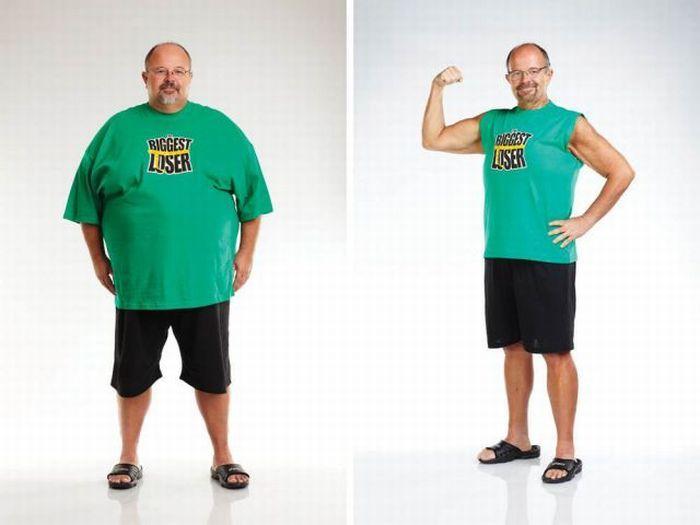 Участники шоу The Biggest Loser до и после шоу. Часть 3 (20 фото)