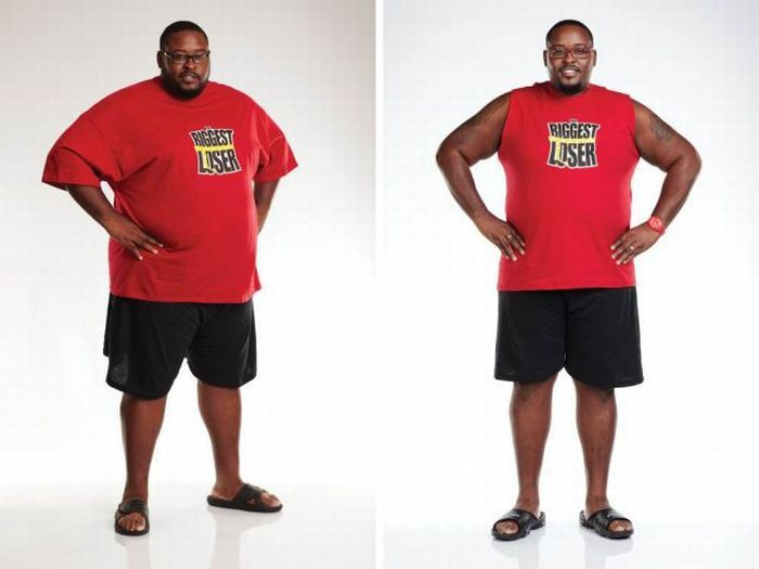"""Участники """"The Biggest Loser"""" до и после шоу. Часть 3. (20 фото)"""