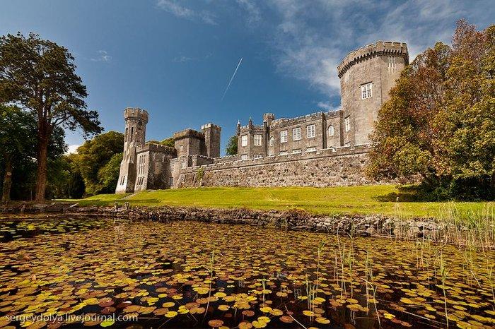 Ирландский замок. Интерьеры (39 фото)