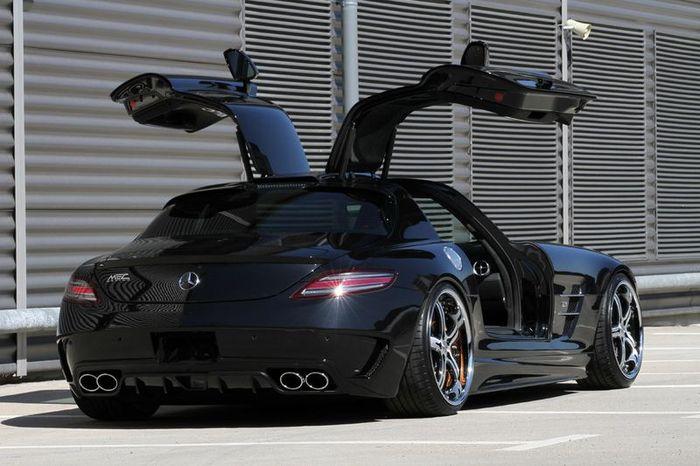 MEC Design представили новый обвес для Mercedes SLS AMG (25 фото)