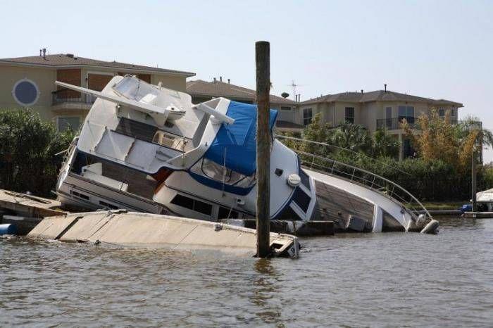 Затонувші яхти