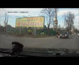 Женщина за рулем сбила пешехода
