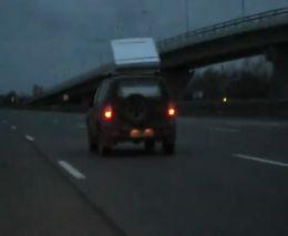 Антикрыло на багажнике