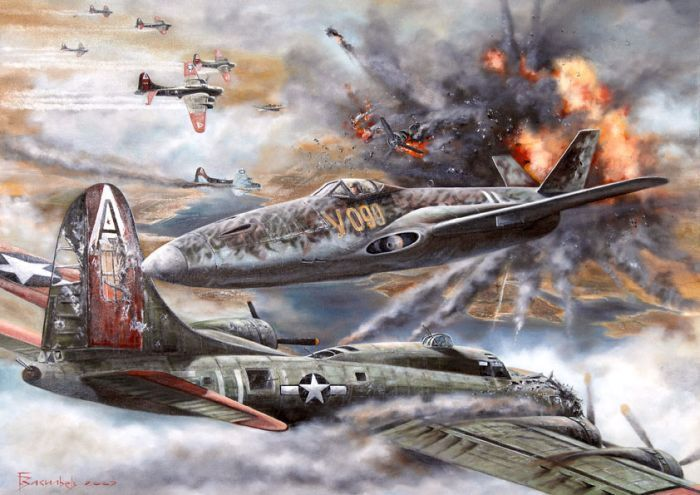 Классные рисунки на военную тематику (21 рисунок)