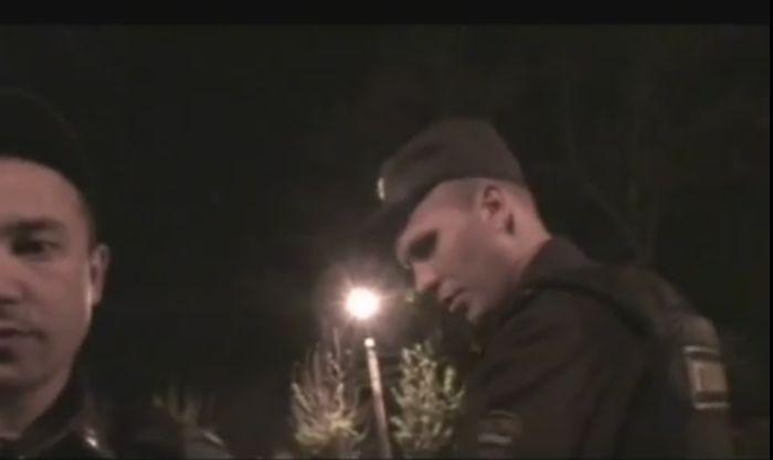 Пьяный плюшевый Миша едет домой (видео)