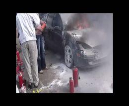 Сколько надо огнетушителей для тушения Ford Focus?