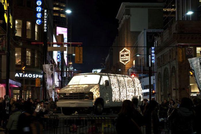 Автомобиль-абажур (8 фото)