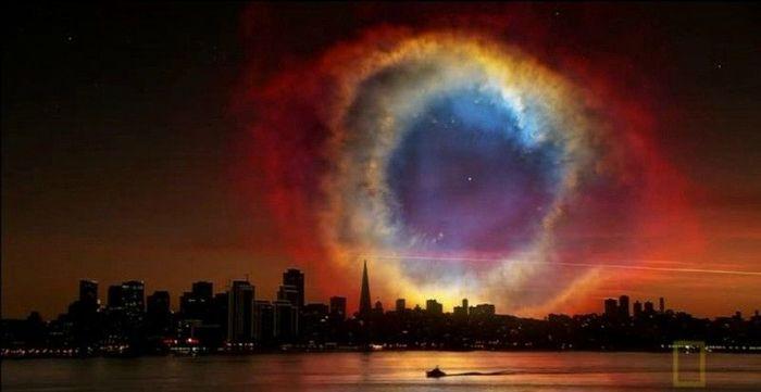 Фантастические виды ночного неба Земли (6 фото)