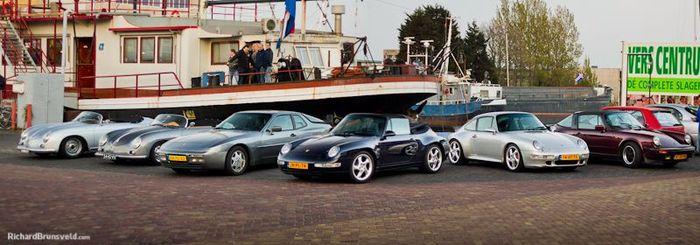 Встреча голландского Porsche клуба (53 фото)