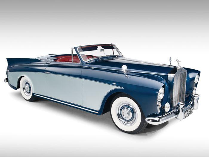 Один из двух в мире Rolls-Royce Silver Cloud продадут на аукционе (10 фото)