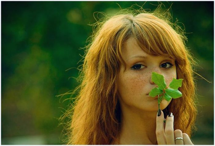 Самые красивые русоволосы девушки фото