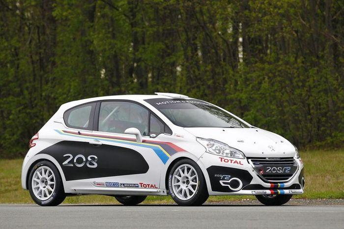 Компания Peugeot построила раллийный вариант модели 208 (25 фото)