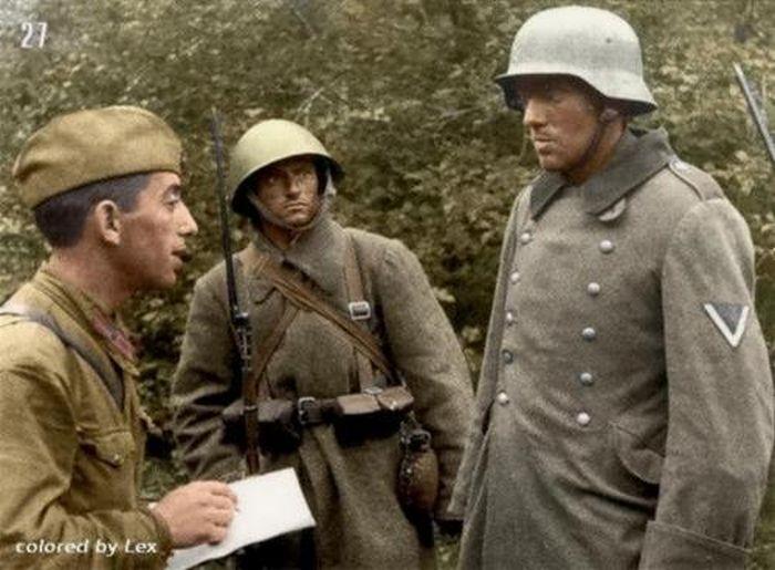 Лицо войны вторая мировая война