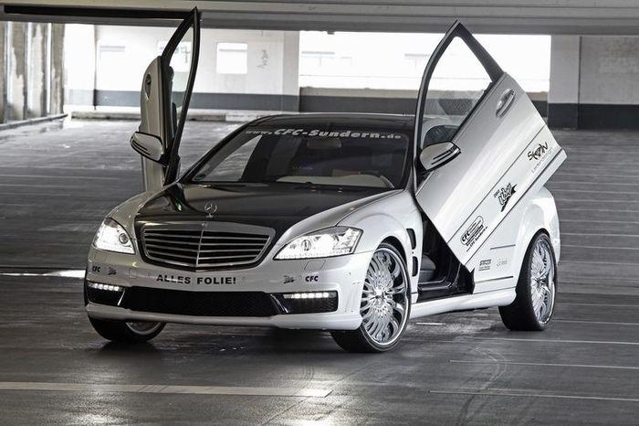 Тюнинг Mercedes S65 AMG от ателье CFC-Sundern (19 фото)