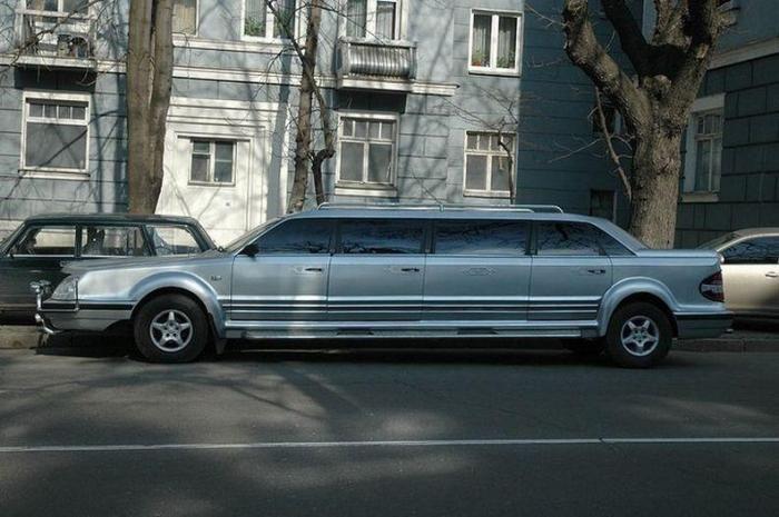 Необычный лимузин из Украины (7 фото)