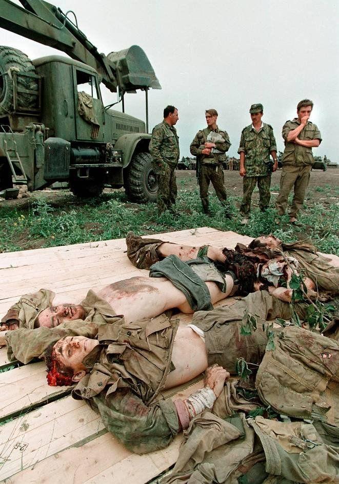 Первая Чеченская война в фотографиях (58 фото)
