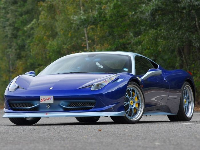 Ferrari 458 Italia Emozione от тюнеров из команды Evolution 2 Motorsports (12 фото)