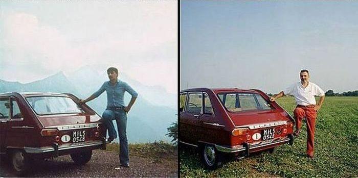 Автомобиль - верный друг на протяжении всей жизни (9 фото)