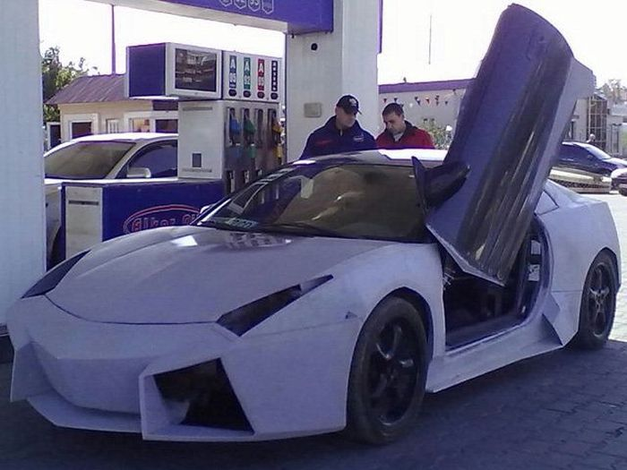 Самодельный Lamborghini Reventon из Одессы (11 фото)