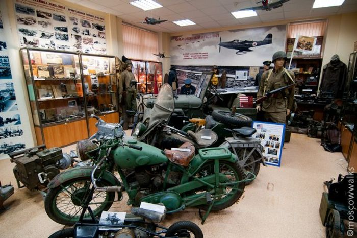 Военный музей ленд-лиза в Москве (26 фото)
