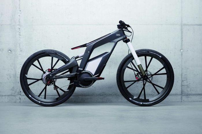Электровелосипед e-bike от компании Audi (18 фото)