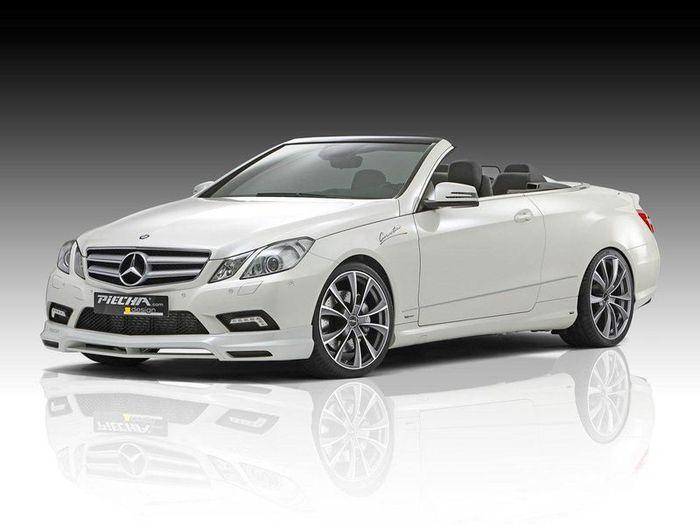 В ателье Piecha Design затюнили Mercedes E-Class (8 фото)