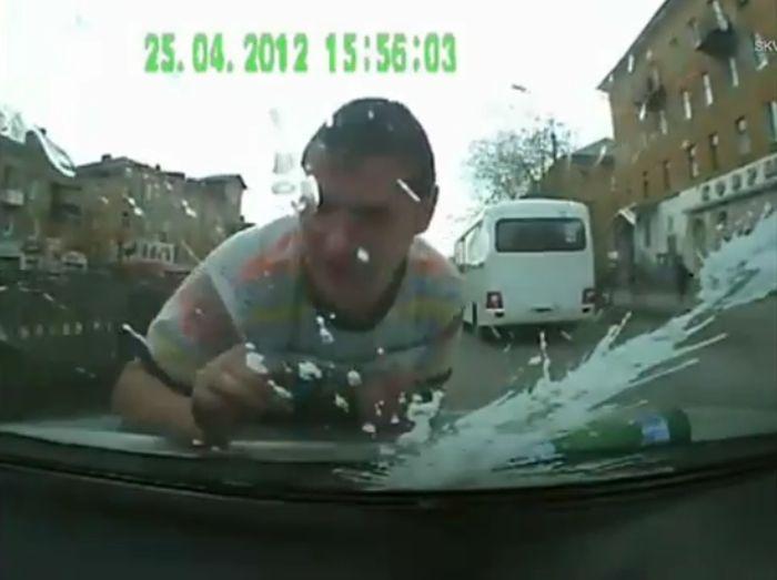 Большая подборка аварий с пешеходами на российских дорогах. Часть 2 (видео)