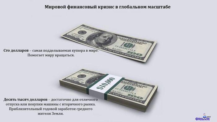 Мировой финансовый кризис в глобальном масштабе (13 фото)