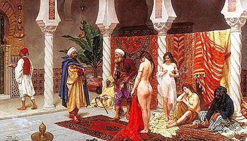 Современные секс рабыни гарема в арабских странах