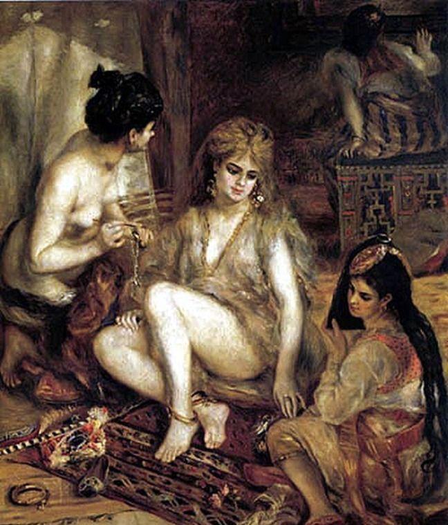 Евнухи зани мались сексом в гареме
