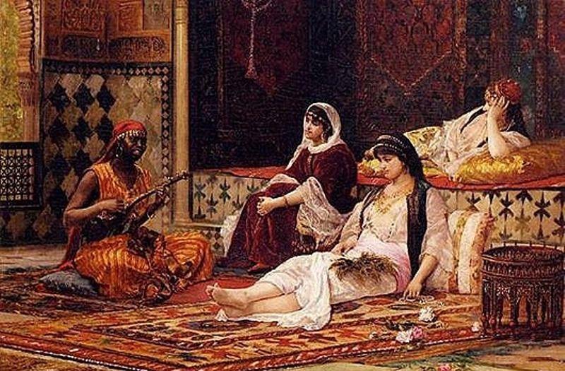 Секс в восточных гаремах у султана смотреть на онлайне