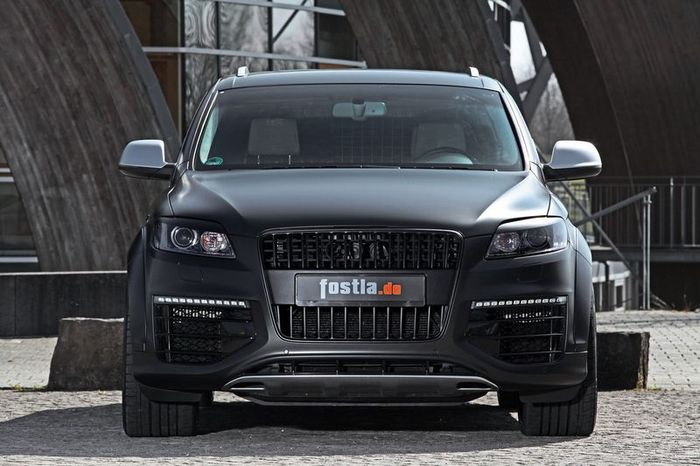 Самый мощный дизельный Audi Q7 V12 TDI стал мощнее в ателье Fostla (14 фото)