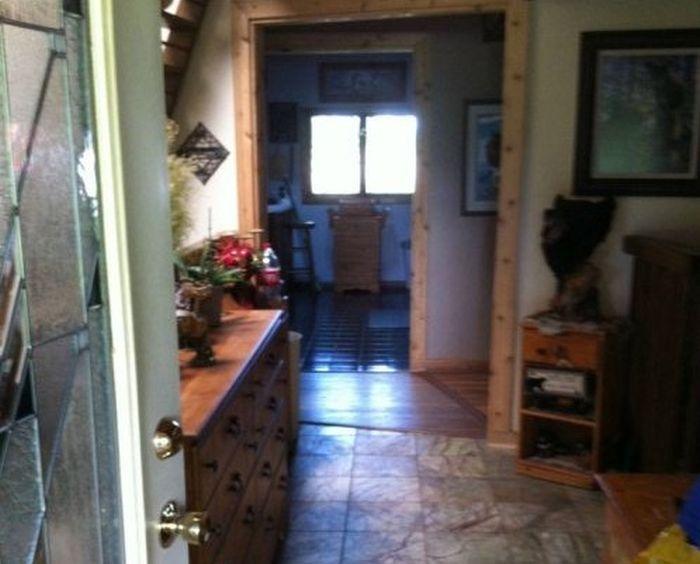 Пруд в собственном доме (10 фото)