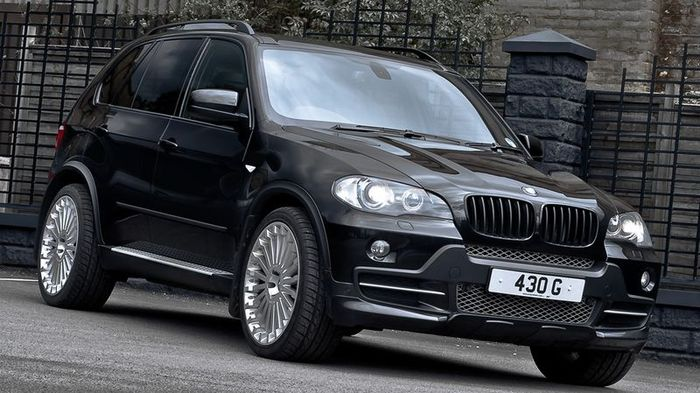 BMW X5 xDrive30d удостоился внимания в ателье Project Kahn (5 фото)