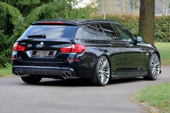В ателье Kelleners Sport затюнили универсал BMW F11 (10 фото)