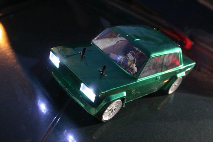 Изготовление модели LADA VFTS (42 фото)