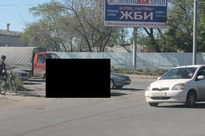 Настоящая челябинская ловушка для машин (2 фото)