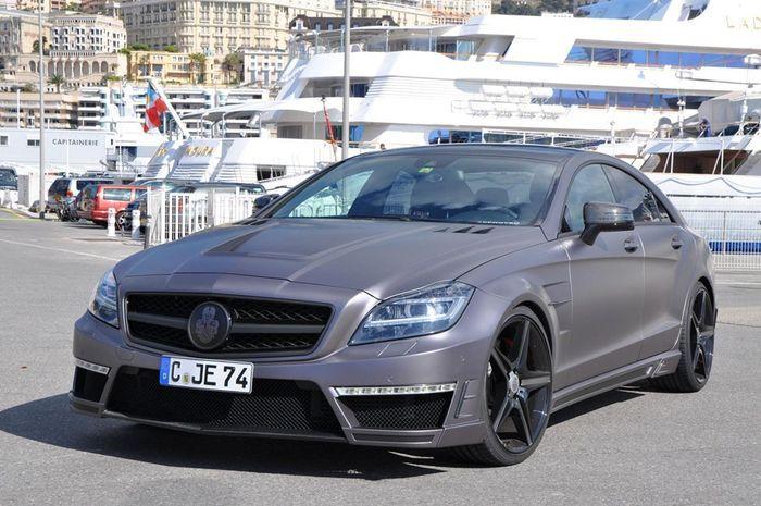 Mercedes CLS 63 AMG от тюнеров Special Customs (8 фото)