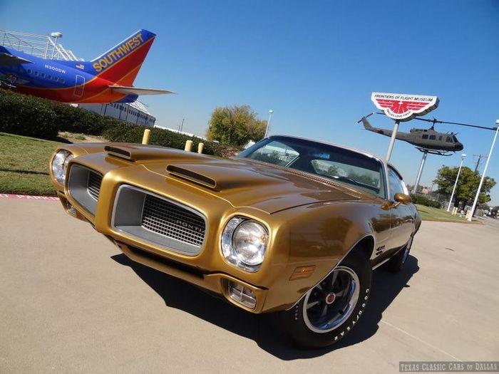 Pontiac Firebird Formula 400 1970 г.в. с 42646 км на одометре в продаже! (56 фото+видео)
