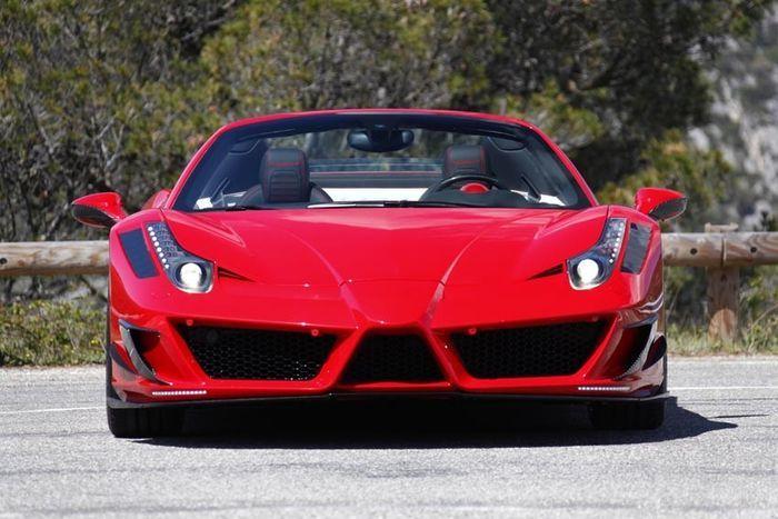 В ателье Mansory представили Ferrari 458 Spider Monaco Edition (8 фото)