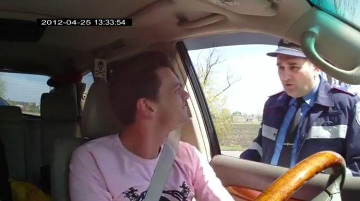 Общение с ГИБДД часть 419 (фото+видео)