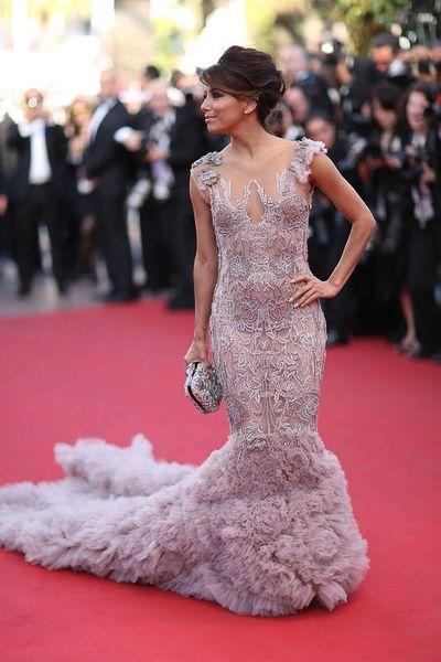 Ева Лонгория на Каннском кинофестивале 2012 (9 фото)